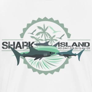 sharisland-sharkshirt T-Shirts - Men's Premium T-Shirt
