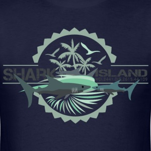 sharisland-sharkshirt T-Shirts - Men's T-Shirt