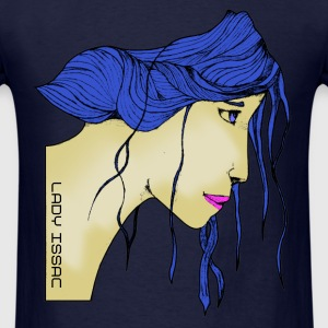 Lady Issac (Normal Fit) - Men's T-Shirt