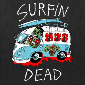 surfin dead Bags & backpacks - Tote Bag