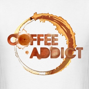coffee addict T-Shirts - Men's T-Shirt