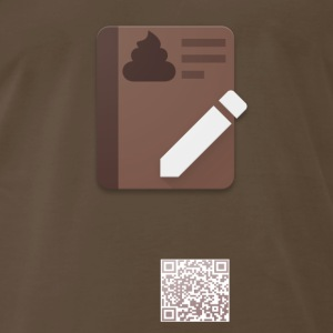 Poop Journal Premium Tee - Men's Premium T-Shirt