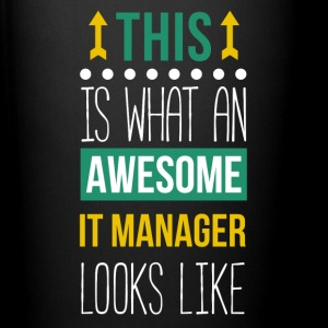 Awesome IT Manager Professions T Shirt Mugs & Drinkware - Full Color Mug