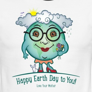 Mother Earth Day Love T-Shirts - Men's Ringer T-Shirt