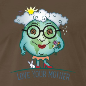 Love Mother Earth T-Shirts - Men's Premium T-Shirt