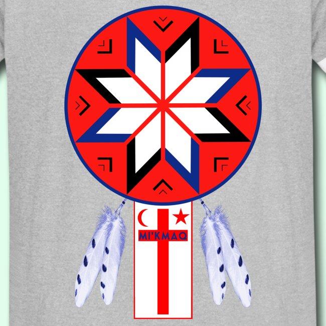 Newfieguy Tripartite Mikmaq Forum Symbol And Flag Vintage Sport