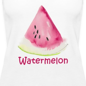 Watermelon Tanks - Women's Premium Tank Top