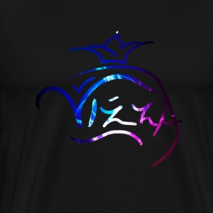 blue and pink Signature - Men's Premium T-Shirt