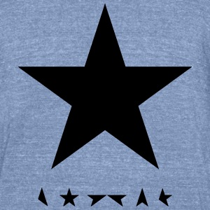 david bowie blackstar tshirt - Unisex Tri-Blend T-Shirt by American Apparel