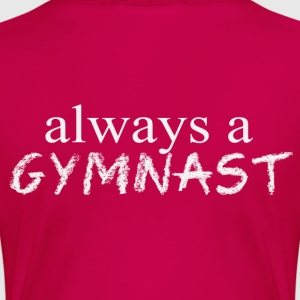 Once A Gymnast - Back Women's T-Shirts - Women's Premium T-Shirt