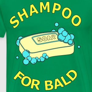 shampoo for bald T-Shirts - Men's Premium T-Shirt