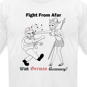 German Accuracy T-Shirts - Men's T-Shirt by American Apparel