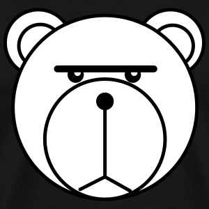 Blank Stare Bear - Men's Premium T-Shirt
