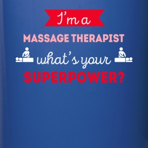 Massage Therapist Superpower Professions T Shirt Mugs & Drinkware - Full Color Mug