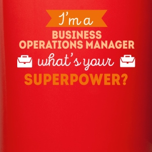 Business Operations Manager Superpower T Shirt Mugs & Drinkware - Full Color Mug