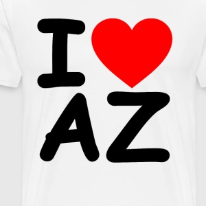 i_love_arizona - Men's Premium T-Shirt
