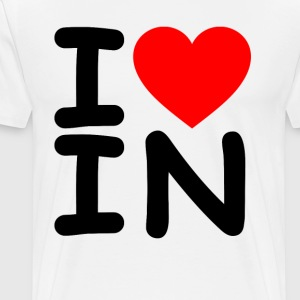 i_love_indiana - Men's Premium T-Shirt