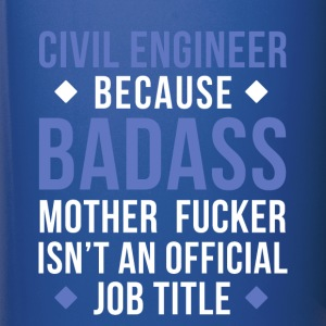 Badass Civil Engineer Professions T Shirt Mugs & Drinkware - Full Color Mug