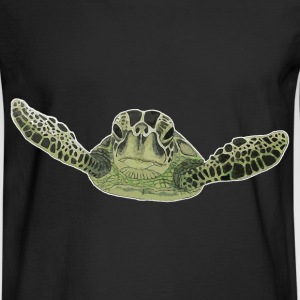 Green sea turtle  - Men's Long Sleeve T-Shirt