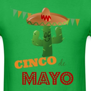 Cinco de Mayo, - Men's T-Shirt