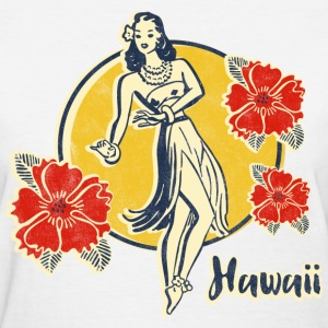 Retro Hula Girl Women's T-Shirts - Women's T-Shirt