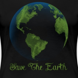 save the earth - Women's Premium T-Shirt