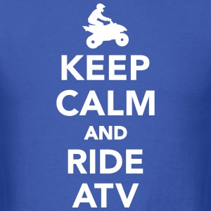 Keep calm and ride ATV T-Shirts - Men's T-Shirt