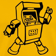 fun  geek arcade gamer  T-Shirts