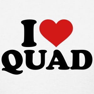 I love Quad Women's T-Shirts - Women's T-Shirt