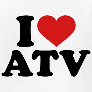 I love ATV Kids' Shirts - Kids' T-Shirt