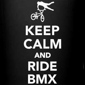 Keep calm and ride BMX Mugs & Drinkware - Full Color Mug