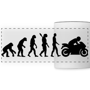 Motorcycle Mugs & Drinkware - Panoramic Mug