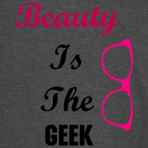 Beauty is the Geek Varsity - Vintage Sport T-Shirt