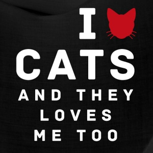 Love Cats - Bandana