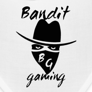 BanditGaming Bandana white with logo - Bandana