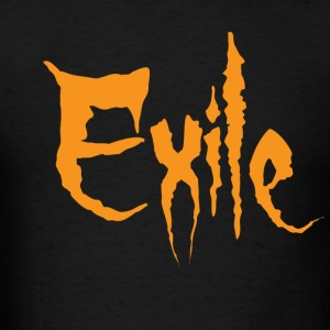 Exile text only - Men's T-Shirt