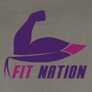 fit nation tee - Women's Premium T-Shirt