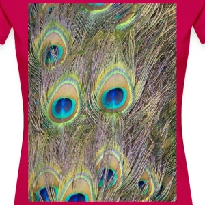 Peacock feathers - Women's Premium T-Shirt