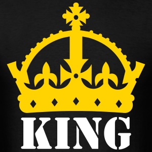 King or Queen Crown T-Shirts - Men's T-Shirt
