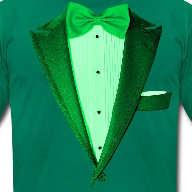 St. Paddys Green Tuxedo Tux