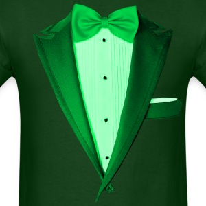 Green St.Paddy's DayTuxedo T-Shirts - Men's T-Shirt