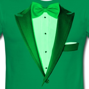 Green St.Paddy's DayTuxedo T-Shirts - Men's Ringer T-Shirt