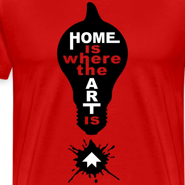 HOME IS - front print - s/5xl