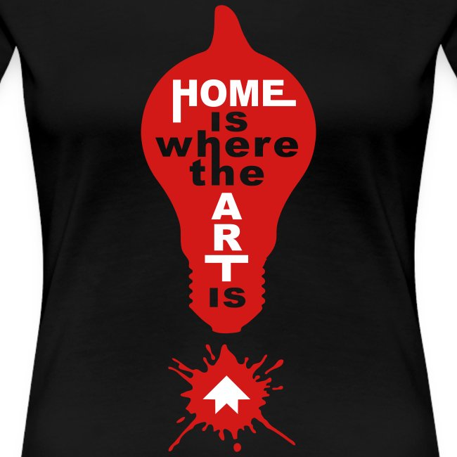 HOME IS - front print - s/3xl