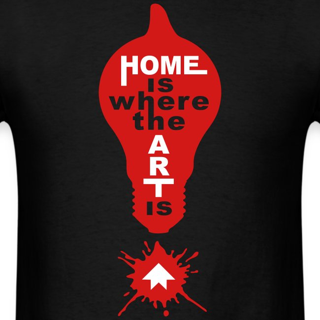 HOME IS - back+front - s/xxl