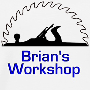 Brian's Workshop Logo T-Shirt - Men's Premium T-Shirt