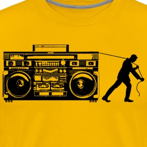 Giant Boombox Man - Men's Premium T-Shirt