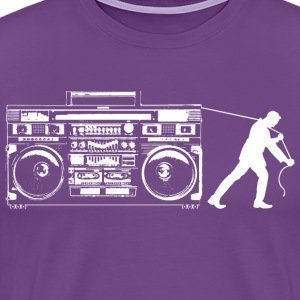 Giant Boombox Man T-Shirts - Men's Premium T-Shirt