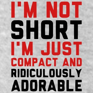 I'M NOT SHORT - I'M JUST COMPACT! Bottoms - Leggings by American Apparel