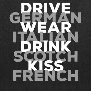 Drive German - Tote Bag